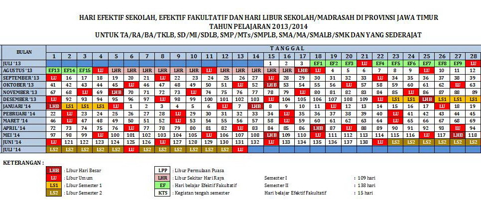 Download Kalender Pendidikan 2013 2014 Nq 99